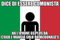 Cazzo quanto odio le persone così.... #italia #italianomedio #comunismo #capitalismo #coerenza