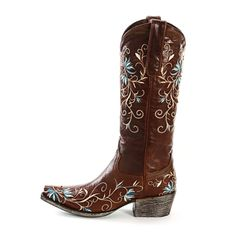 Lane Brown Ametria Cowgirl Boots  All Womens Western Boots  Oh my! I think I am in love!!!