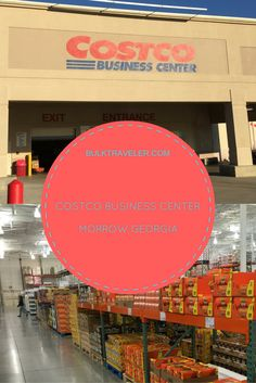 Visit the Costco Morrow Business Center - If you think you've seen BULK you haven't seen anything yet.
