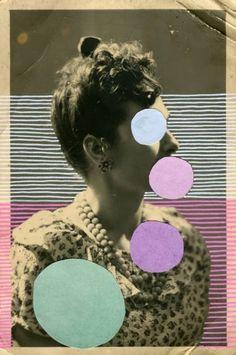 "Saatchi Art Artist Naomi Vona; Collage, ""Coco - ORIGINAL NOT AVAILABLE"" #art"