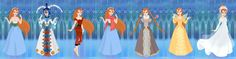 Thumbelina Wardrobe in Snow Queen Scene by autumnrose83 on DeviantArt