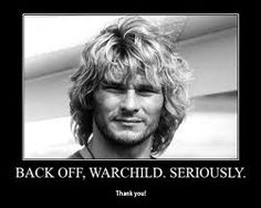 """Back off Warchild."" -Bodhi from Point Break The Best Films, Great Movies, Point Break 1991, Hollywood Theater, One Does Not Simply, Attitude, Patrick Swayze, Roman Polanski, Win Tickets"