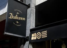 Los Italianos Branding by Huaman Studio | Inspiration Grid | Design Inspiration