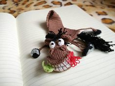 Funny gift Bookmark horse Handmade bookmark made with love