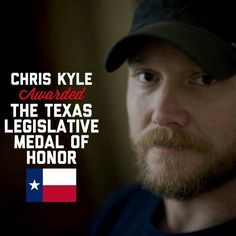 Chris Kyle awarded the Texas Legislative Medal of Honor