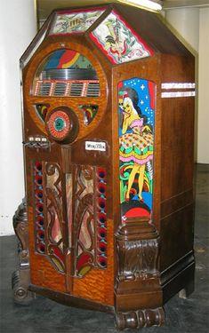 Wurlitzer Victory Antique Record Player, Radio Record Player, Record Players, Vintage Records, Vintage Music, Jukebox, Rock And Roll, Music Machine, Music Hits