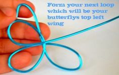 How to Make Wire Butterflies for Wood Crafts | Crafty Wood Cutouts