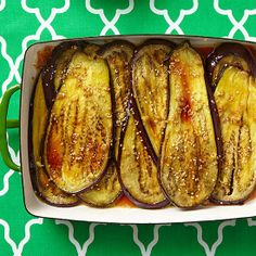 Sesame Honey Eggplant