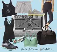 This is Jane Wayne - Fair Friday Fitness Wishlist