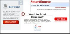 Printing Problems? Coupon Network, SmartSource to Junk Java