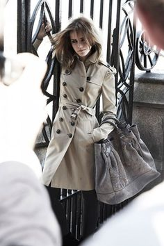 June 2009 As the face of Burberry for autumn/winter 2009-10. emma watson in trench coat ♥♥♥