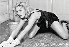 woman scrubbing floor vintage - Google Search