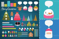 Check out Christmas infographic by kostolom3ooo on Creative Market