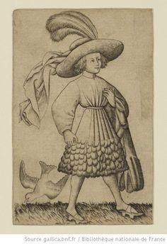 [Jeu de cartes numérales] : [estampe] / [Maître des Cartes à jouer] Auteur : Maître des Cartes à jouer (14..?-14..?). Graveur Éditeur : [s.n.] (Rhin supérieur, entre Constance et Mayence) Date d'édition : 1435-1455 Format : 40 est. : burin ; 14 x 9,3 cm (cartes) Format : image/jpeg Droits : domaine public Identifiant : ark:/12148/btv1b7200358m