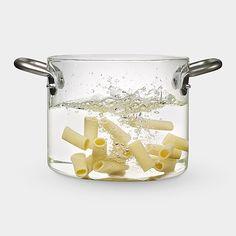 Glass pot moma