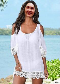 Bikini Cover Up, Swimsuit Cover Ups, Swimwear Cover Ups, Beach Dresses, Summer Dresses, Summer Outfits, Beach Outfits, Dress Beach, Beach Skirt