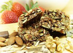 Zdravé domácí musli tyčinky Yummy Snacks, Healthy Snacks, Healthy Recipes, Easy Recipes, Delicious Food, Amaranth Recipes, Organic Pumpkin Seeds, Plant Based Snacks, Vegan Protein Bars