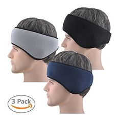 Sports headband that comes with enough support, proper grip, soft and snugly features, along with an arc-shape enabling it to wrap the ears perfectly, keeping them warm,Portable & Endurable – The running headband is accredited with potent performance yet lightweight and convenient to...
