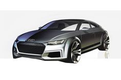Alleged Audi TT Sportback concept (Image via Auto Zeitung). Check out more on Motor Authority.