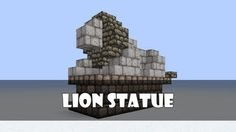 How to build a horse statue in minecraft - YouTube