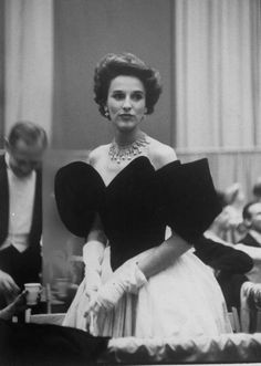 Babe Paley at the Eisenhower Inaugural.
