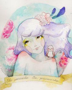 drops de ilustração | juliana rabelo: Eles passarão! Eu, passarinho...