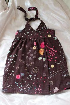 DIY Clothes Refashion: DIY Snap Wrap Dress   Pretty Prudent