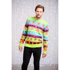 Kersttrui Met Hert.11 Best Christmas Sweater Images Christmas Jumpers Christmas