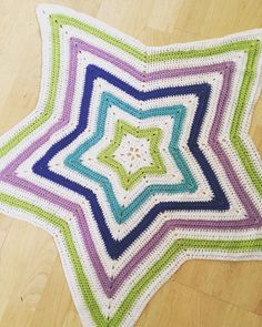 A personal favourite from my Etsy shop https://www.etsy.com/uk/listing/563537443/star-crochet-blanket
