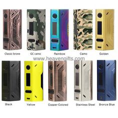 Smoant Battlestar 200W TC Box MOD, Compact Size, Magnetic Back Cover