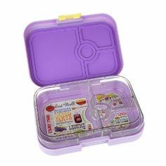 Yumbox Panino in Lavande Purple from Eats Amazing UK - fun kids bento boxes UK