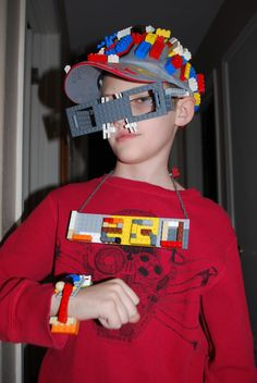 My son the lego designer! He decided to glue 100 Legos to a hat for 100 day in school.. with moving parts... and the creativity with legos has never ended.. his imagination has no end.. If you have 100 day coming up- your kid might like this idea too ! ( he asked that I pin this one too) - *** He's already addicted to Pinterest too! lol