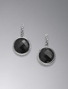 No Le Rare Gemstonesblack Onyxdavid Yurmanprecious Metalswomen S Earringsneiman
