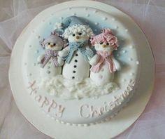 Snowman Cake (389×328)