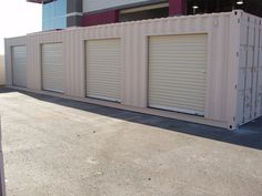 US $4,800.00 Shipping Container Conex Storage building with roll up doors