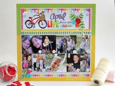 Nichol Magouirk has been running a Scrapbook Stamping class.  I don't usually do big titles like this, but it might be fun to try.