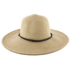 Wider - Jeanne Simmons Cotton Toyo Straw Wide Brim Hat - 8501. Wide-brim  HatSummer Hats 5db630ebf0af