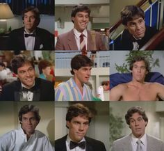 Bear on Love Boat. OMG so I love his hair, I always love his hair, any way he wears it, it's just amazing