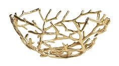 Stunning home décor finds under $100: Golden branch bowl from Z Gallerie