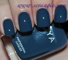 Natty by Zoya. Monaco Blue nail polish anyone? http://www.zoya.com/content/38/item/Zoya/Zoya-Nail-Polish-Natty-ZP629.html