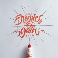 """Check out this @Behance project: """"Colorful Brushpen Lettering Set """" https://www.behance.net/gallery/33344267/Colorful-Brushpen-Lettering-Set-"""