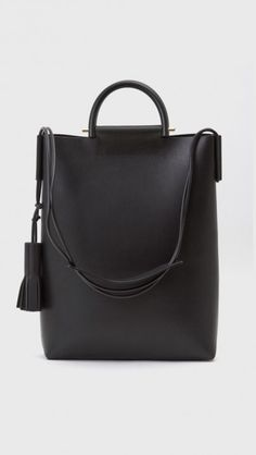 Building Block Business Briefcase Bag in Black | The Dreslyn