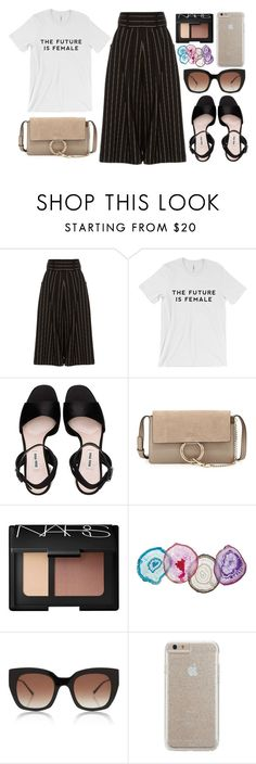 """""""THE FUTURE IS FEMALE"""" by mariimontero on Polyvore featuring J.W. Anderson, Miu Miu, Chloé, NARS Cosmetics, RabLabs, Thierry Lasry and Case-Mate"""