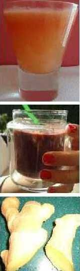 Orange, Apple, Berry, and Green Smoothies for treating Asthma.