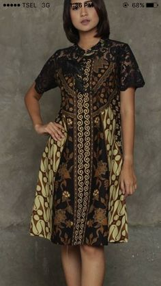 Ideas Fashion African Traditional Wedding Dresses For 2019 Blouse Batik, Batik Dress, Lace Dress, African Traditional Wedding Dress, Traditional Outfits, Fabulous Dresses, Pretty Dresses, Dress Batik Kombinasi, Casual Dresses