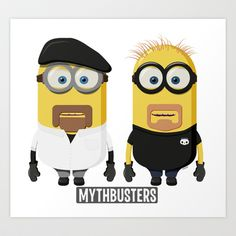 The real brains behind MythBusters, none other than the Minions. Minion 2015, Minion Art, Cute Minions, Minions Despicable Me, Funny Minion, Minion Mayhem, Minion Pictures, Minions Quotes, Backgrounds