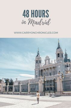 Traveling to Madrid but have limited time? Here are some activity suggestions to help you make the most of this beautiful city in a short time. Europe On A Budget, Europe Travel Tips, Spain Travel, Travel Destinations, Travel Guide, Traveling Europe, Places Around The World, Around The Worlds, Best Cities In Europe