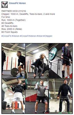 #Wod #CrossFit #Voiron #crossFitVoiron #Chipper
