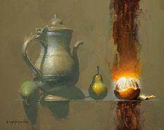 Of This World by David Cheifetz Oil ~ 8 x 10