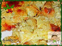 Bacalhau no Forno com Béchamel e Natas | Receitas, Recipes, Recettes, Recetas, Rezepte, Recepten, 食譜 & Sugestions